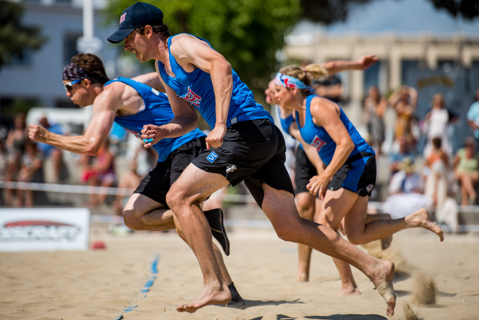 Video Thumbnail: 2017 World Championships of Beach Ultimate, Mixed Masters Gold Medal Game: USA vs. Canada