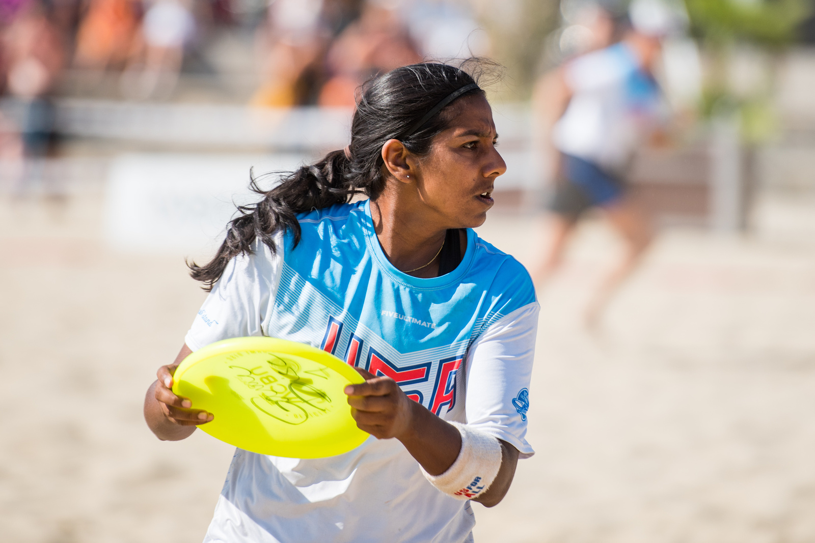 Video Thumbnail: 2017 World Championships of Beach Ultimate, Women's Masters Gold Medal Game: USA vs. Canada