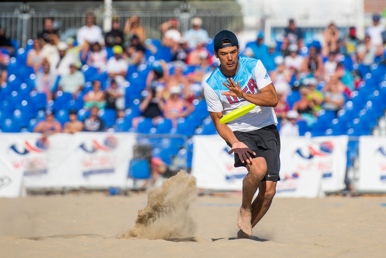 Video Thumbnail: 2017 World Championships of Beach Ultimate, Men's Masters Gold Medal Game: USA vs. France