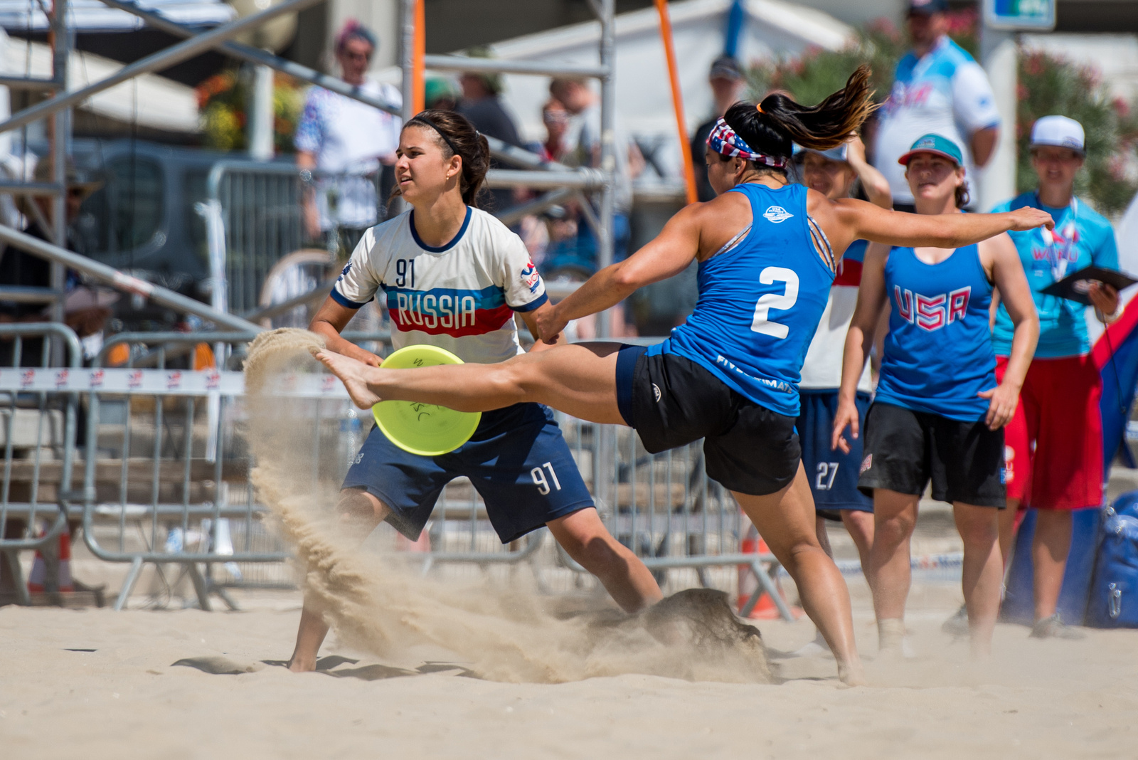 Video Thumbnail: 2017 World Championships of Beach Ultimate, Women's Gold Medal Game: USA vs. Russia