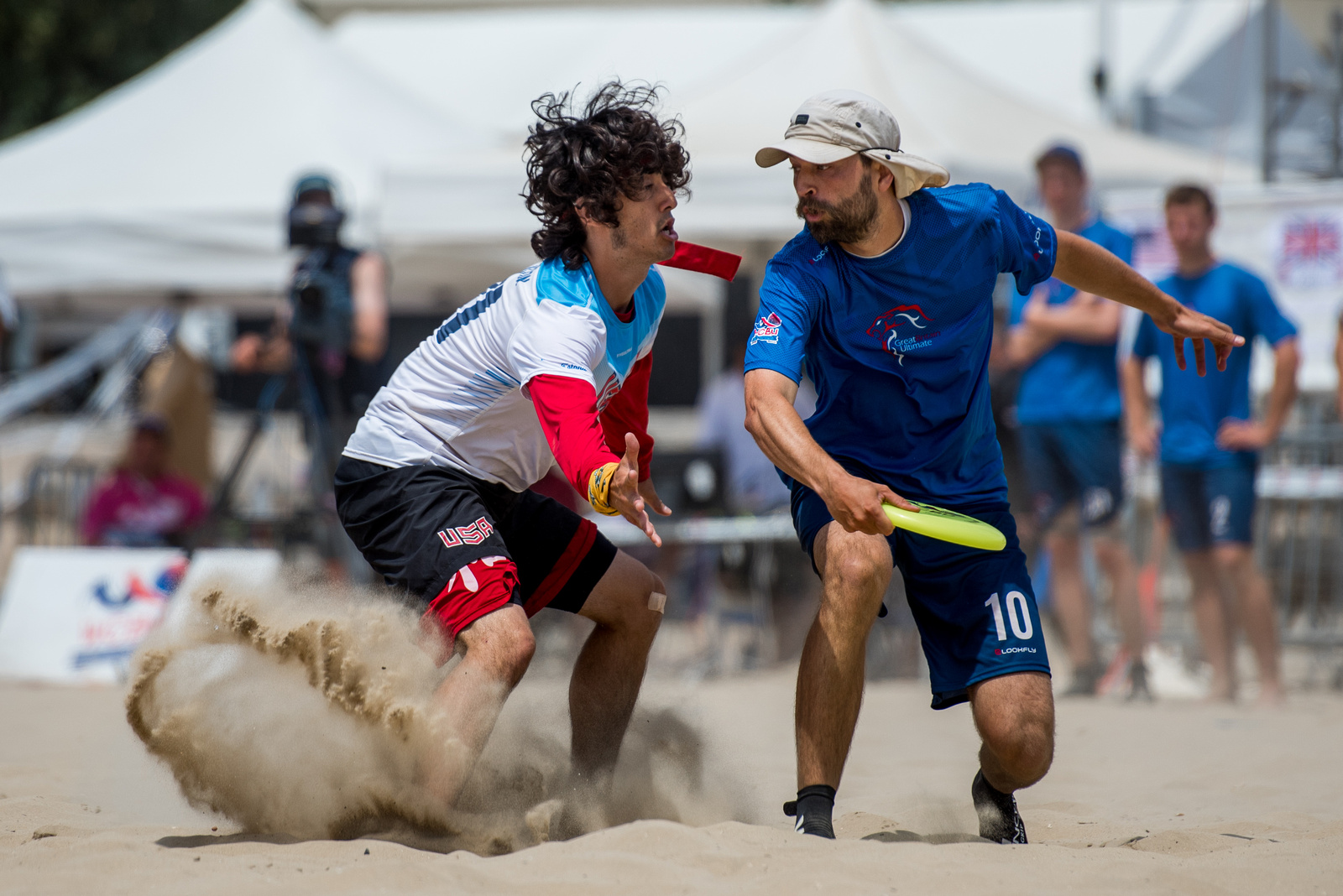 Video Thumbnail: 2017 World Championships of Beach Ultimate, Men's Gold Medal Game: USA vs. Great Britain