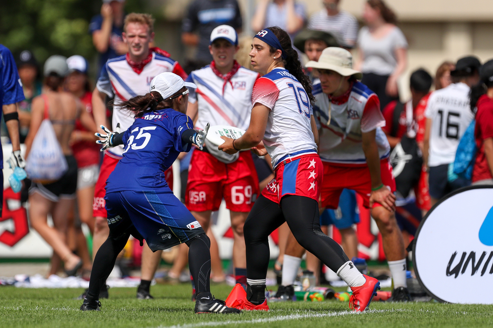 Video Thumbnail: 2019 WFDF World U-24 Championships, Mixed Gold Medal Game: USA vs. Japan